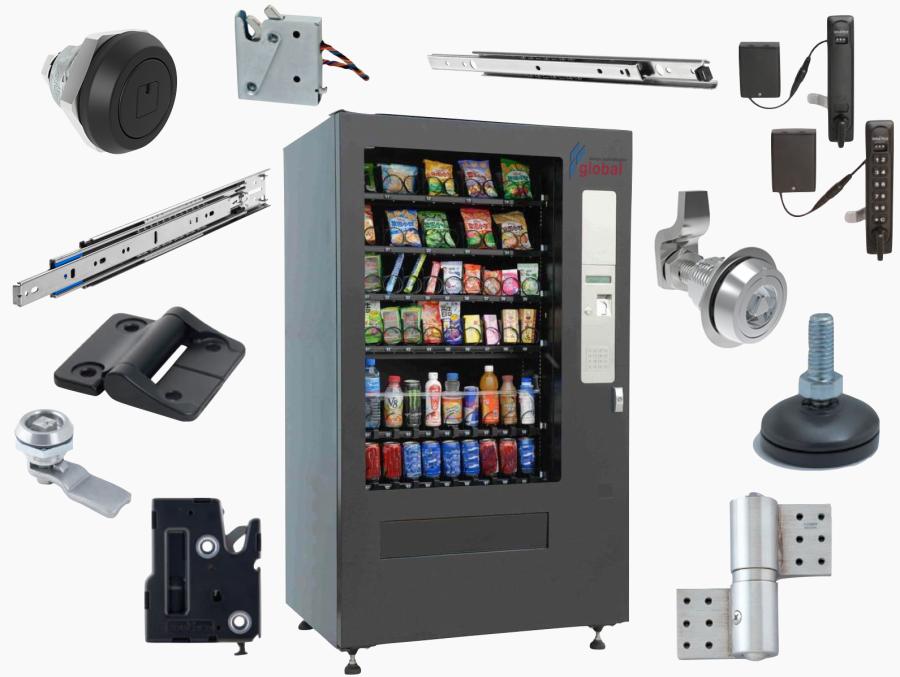 accuride-sugatsune-southco-vending